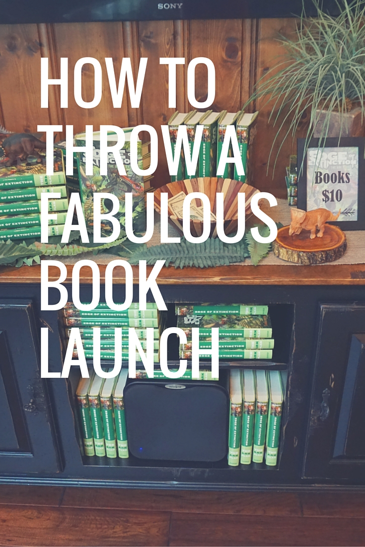 How to Throw a fabulousbook launch