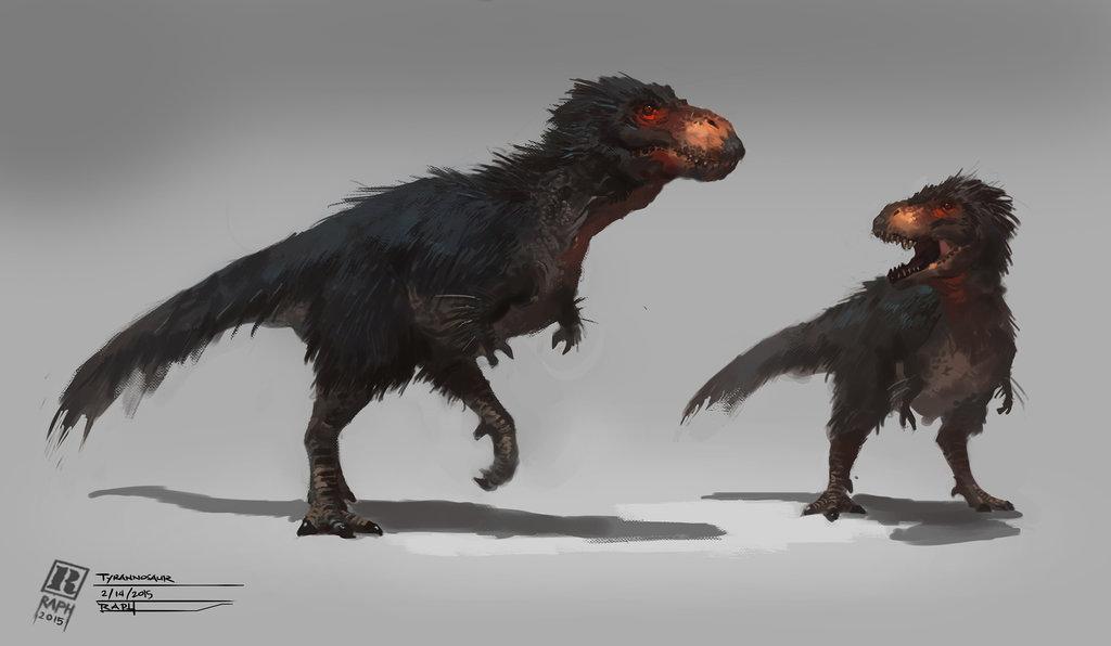 tyrannosaurus_rex_by_raph04art-d8hyerz
